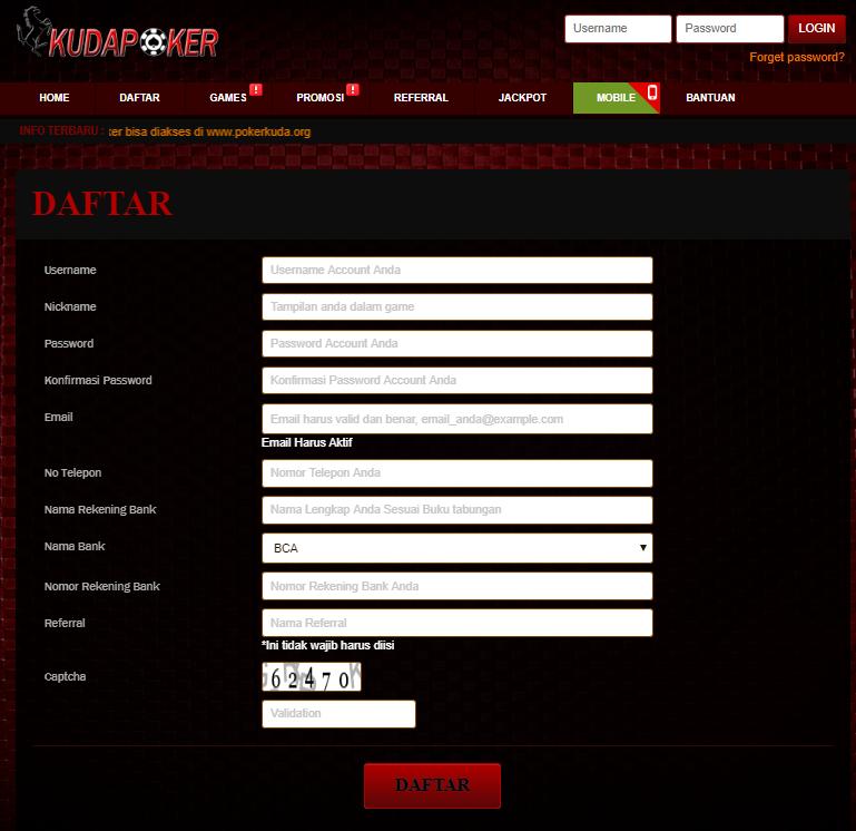 Daftar Kudapoker   Link Alternatif Resmi Idn Poker Terpercaya